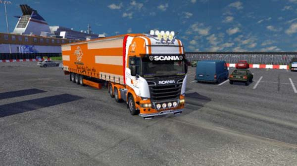 Scania Pos Indonesia Skin