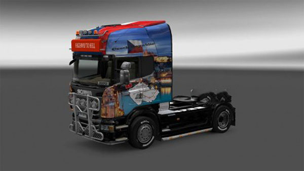 Scania R – Czech Trucker Skin