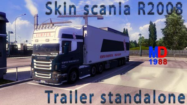 Scania R2008 + Trailer Kempen