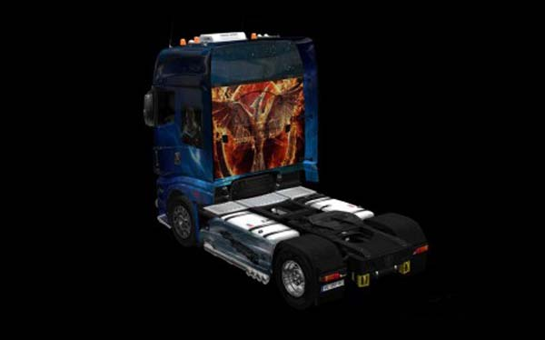 Scania R700 Science Fiction Skin