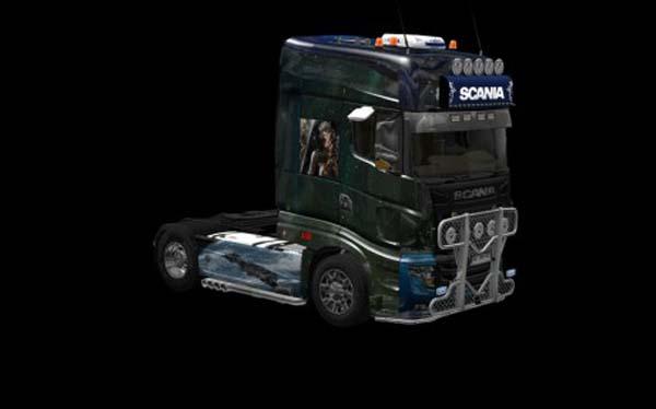Scania R700 Science Fiction Skin