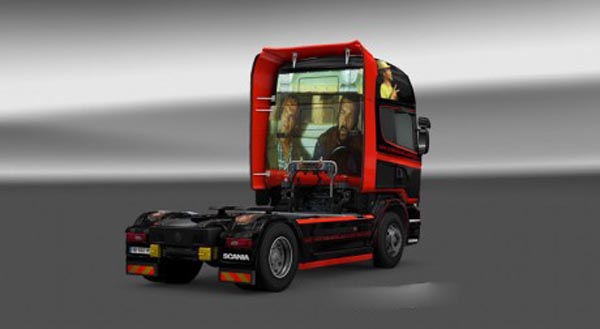 Scania Spencer Hill Skin