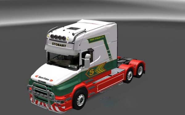 Scania T Old Stobart Skin