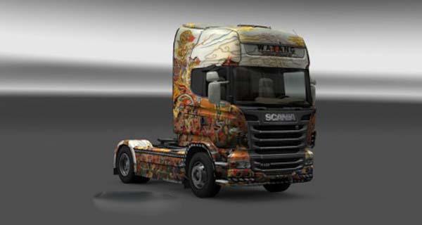 Scania Wayang Skin