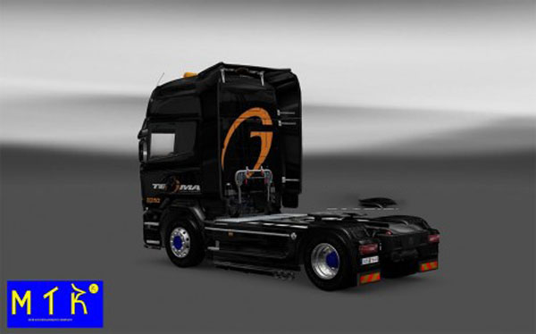 Skin Scania Streamline Tegma Logistic