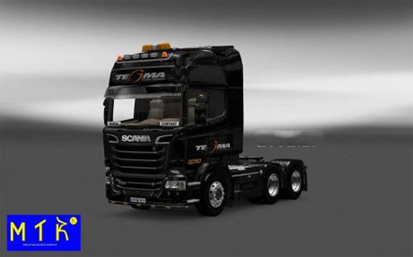 Skin Scania Streamline Tegma Logistic