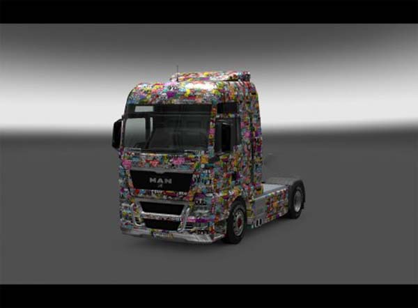 Skins Stickers Boom For All Trucks