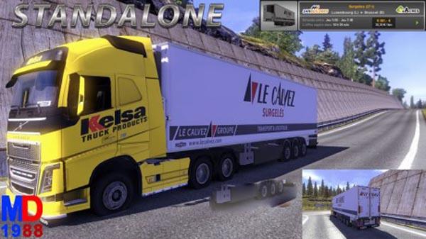 Standalone trailer Le Calvez