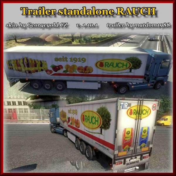 Standalone trailer Schmitz Rauch