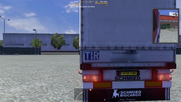 TIR with stripe for Schmitz Universal trailer