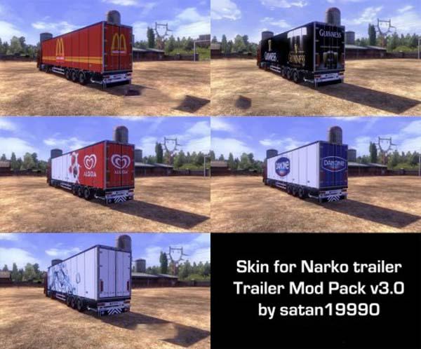 TMP Narko Trailer Skin