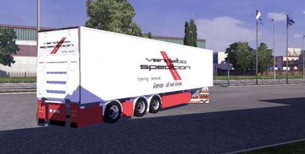 Vendelbo Spedition Trailer Skin