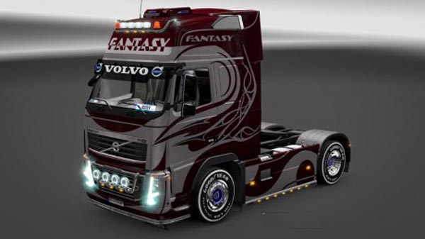 Volvo FH 2009 Fantasy Skin