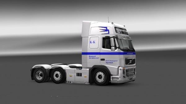 Volvo FH 2009 K.K Transport Skin