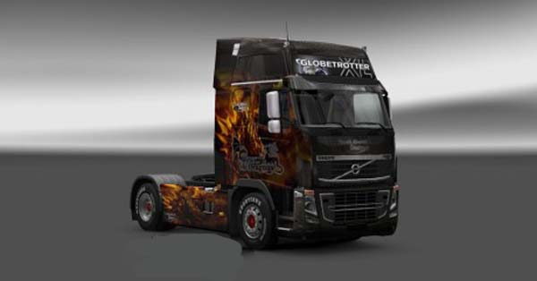 Volvo FH 2009 Wyverns and Dragons Skin