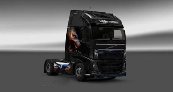 Volvo FH 2012 Bit Fight Skin