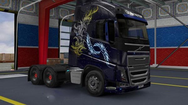 Volvo FH 2012 HD Stylish Skin