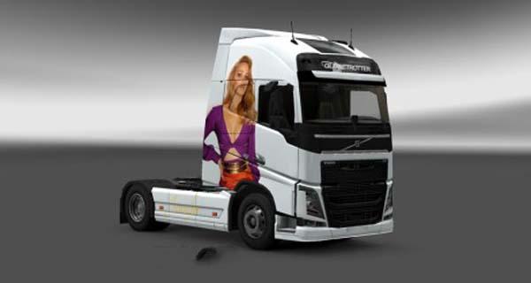 Volvo FH 2012 Jennifer Lawrence Skin