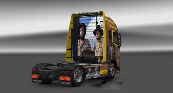 Volvo FH 2012 Spencer Hill Skin