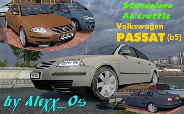 AI traffic Car Volkswagen Passat B5