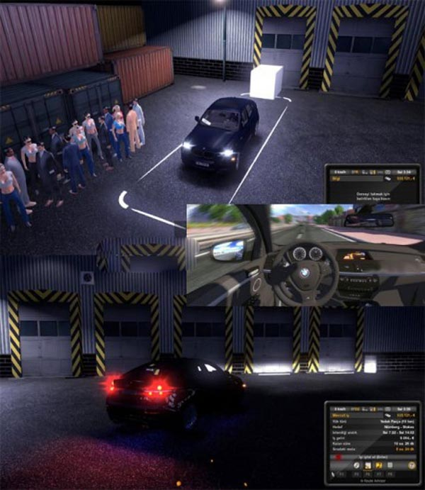 BMW X6 + Passengers