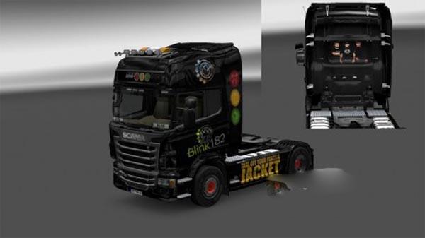 Blink182 Scania Skin