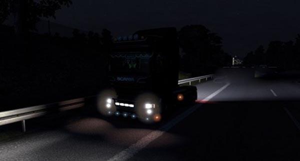 Brighter rear light