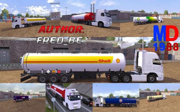 Combo skin pack fuel Trailers