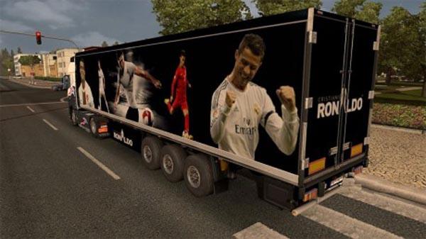 Cristiano Ronaldo trailer mod