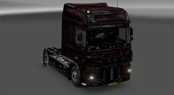 DAF Black skin and interior