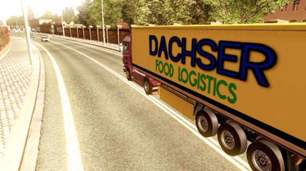 Dachser Intelligent Logistics Trailer Skin
