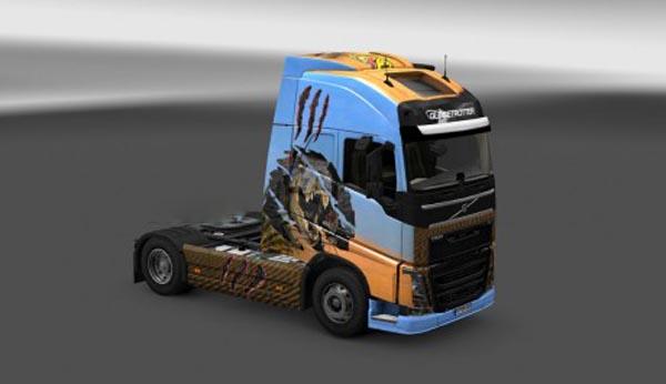 Dino skin for Volvo FH