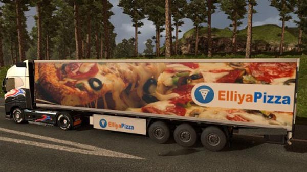 Elliya Pizza Trailer Skin