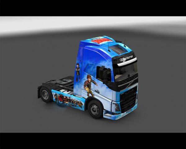 How to train your dragon skin for volvo FH