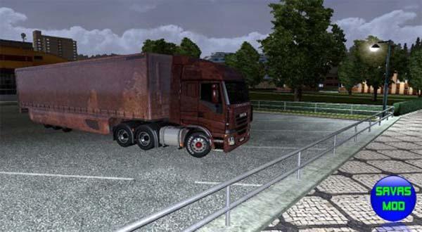 IVECO truck & Trailer, rusty skin mod