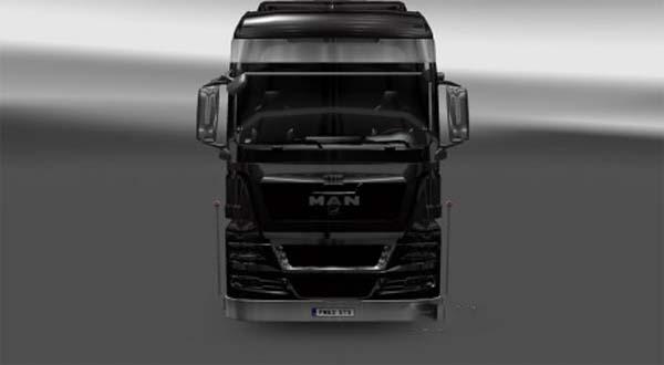 MAN BLACK Truck & Satanic Interior