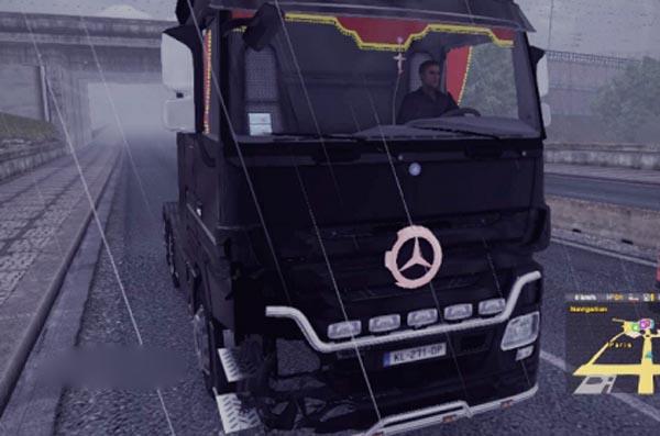 Mercedes Accident Skin + Engine Sound