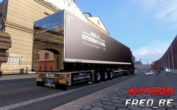 Mercedes MPIV + Trailer Kelly Intl