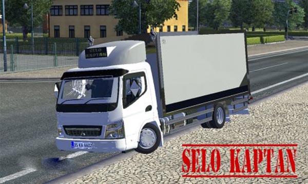 Mitsubishi delivery truck