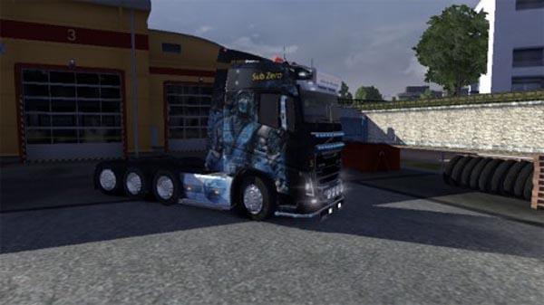 Mortal combat for Volvo fh 2012 13