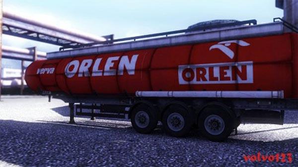 Orlen trailer skin