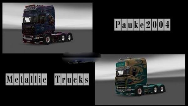 Paukes Metallic trucks