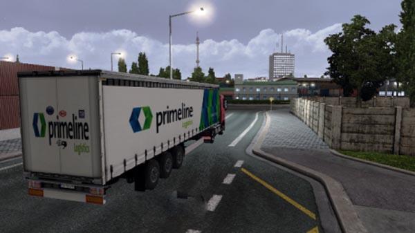 Primeline Logistics Trailer Skin