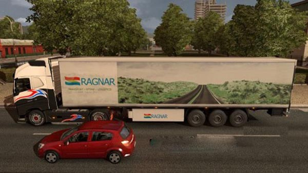 Ragnar Transport trailer