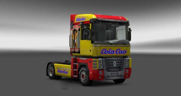 Renault Magnum Cola Cao Skin