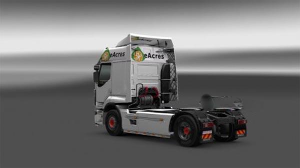 Renault Permium eAcres Skin