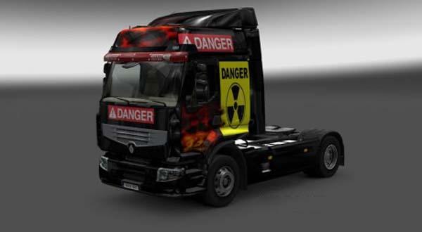 Renault Premium Danger Skin
