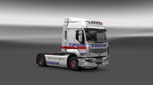 Renault Premium Transinet Skin