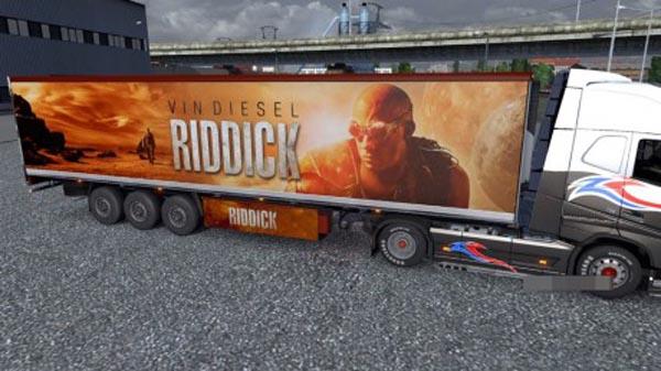 Riddick Trailer Skin