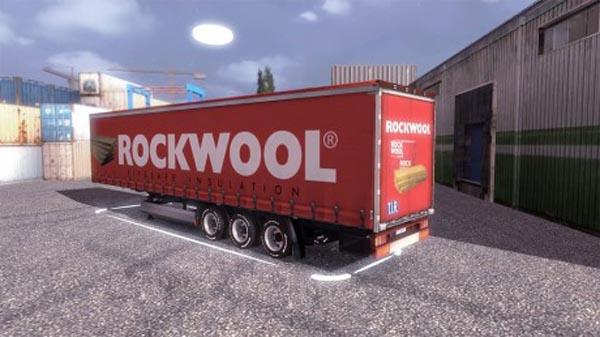 Rockwool KRONEProfiLiner Trailer Skin